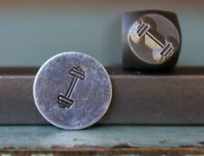 SUPPLY GUY 6mm Barbell Metal Punch Design Stamp SGCH-80