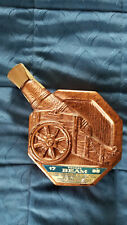 1970 BONDED JAMES B. BEAM ~~ CANNON DECANTER ~~ EMPTY ~~ FREE SHIPPING in USA