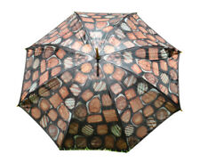 NEW Box of Chocolates Art Design Fashionable Large Umbrella Rain Storm