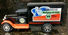 """Vintage Ertl Wilwert's Harley Davidson 93"""" Hill Climb 31 Delivery Truck Bank New"""