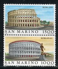 San Marino 1985 Rome/View of Colosseum/History/Archaeology/Architecture MNH