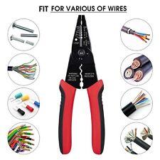 """1Pcs 8"""" Professional crimping tool / Multi-Tool Wire Stripper/Cutter/Crimper"""