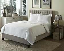 Behrens England Tradition European Hotel 100 Cotton Damask Duvet Cover Set, & &