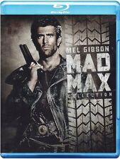 Mad Max Trilogie - Mad Max I II III - Vollstrecker- Donnerkuppel  Blu-Ray