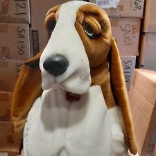 "Vintage Rare Official Plush Hush Puppies Basset Hound by Wolverine Jumbo 23"" Dog"