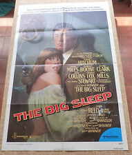 The Big Sleep Movie Poster, Original, Folded, One Sheet, year 1978, Sarah Miles