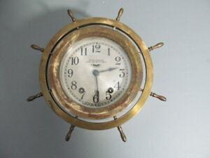 Seth Thomas 8 day ships bell clock