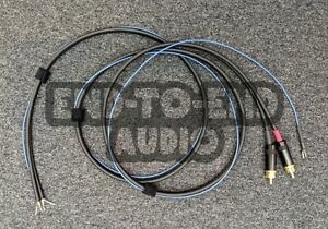 End To End Audio - Turntable Cable Replacement, Technics 1200, Mogami