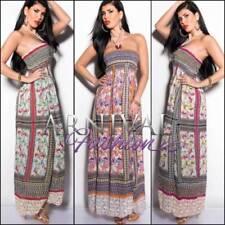 Regular Size Polyester Paisley Dresses for Women