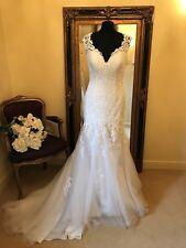 Rebecca Ingram/Sottero Wedding Dress VICTORIA Size 12 Ivory NEW!!