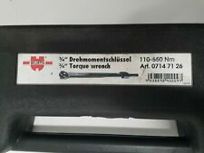 Würth 3/4 INCH TORQUE WRENCH 110-550Nm 071471 26