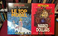 Pétillon, René  lot de 9 albums dont 7 Jack Palmer tous Eo Tbe