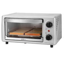 "Toaster Oven 4 Slice, 9"" Pizza, Multi-function Aluminized steel (FDA), 10L Gifts"