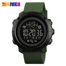 SKMEI Fashion Sports Smart Watch Men's Watch Bluetooth Heart Rate Compass 1512