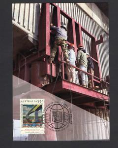 Australia Postal/Maxi Card Opening of the Friendship Bridge Thailand-Laos 1994