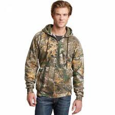 Russell Outdoors Full-Zip Fleece Jacket Sweatshirt Hoodie Realtree Xtra Camo 3XL