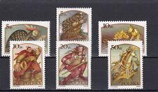 a113 - POLAND - SG3066-3071 MNH 1986 FOLK TALES