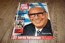Bild und Funk Nr.23/1972 TB Robert Lembke,Dunja Rajter,Tarzan Ron Ely,Udo J.