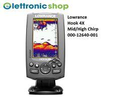 LOWRANCE HOOK 4X - ECOSCANDAGLIO CHIRP + TRASD. 83/200Khz - MID/HIGH CHIRP