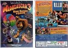 DVD - MADAGASCAR 3 - Bons Baisers d'Europe (Animation Dreamworks) - NEUF