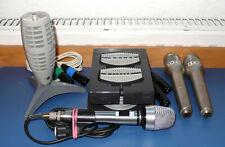 Konvolut bestehend aus 5 alten Mikrofonen  ---      anschauen!