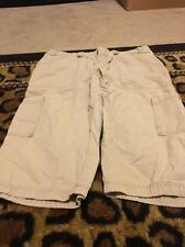 ROXY Islander Women's Casual Capri Pants Sz 11 Beige Clothes