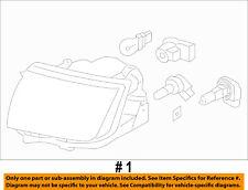 Lincoln FORD OEM 08-10 MKX-Headlight Head Light Headlamp 7A1Z13008D
