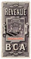 (I.B) Rhodesia/BSAC Revenue : Duty 2/6d