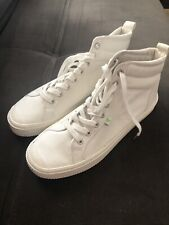 CARIUMA Women's Size 10 (men 8.5) White Canvas OCA High Sneakers, NWOB