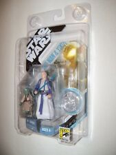 Retired Star Wars SDCC Ltd Ed Concept Jedi Master YODA, OBI WAN KENOBI Figures