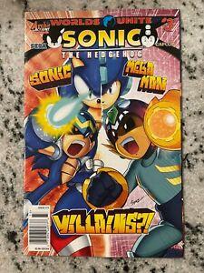 Sonic The Hedgehog # 3 Worlds Unite Archie Comic Book Mega Man Sega Capcom J591