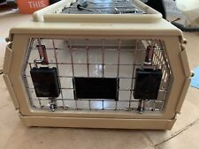 NYLABONE FOLDING COLLASPIBLE PET CRATE TRAVEL KENNEL CARRIER ~ 21 X 16 X 15