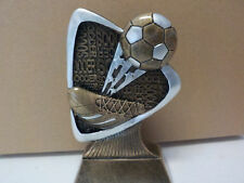 """Soccer trophy or award, about 5.5"""" tall, engraving included, Brand New Design!"""