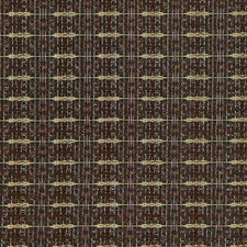 "36"" Speaker Grill Cloth Fabric Burgundy/Beige Stripe Yard"