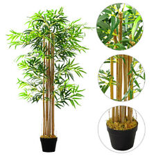 150cm Large Artificial Bamboo Outdoor Indoor Tree Potted Plant Home Office Decor