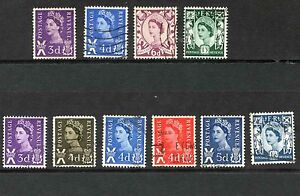 Regionals. Selection of 53 Stamps. Used.
