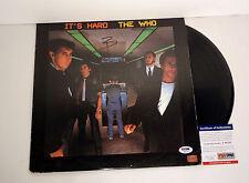 PETE TOWNSHEND THE WHO SIGNED AUTOGRAPH ITS HARD VINYL RECORD ALBUM PSA/DNA COA