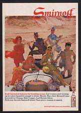 1968 SMIRNOFF Vodka - Rudi Gernreich Fashions PICK A WOMAN TO MATCH  VINTAGE AD