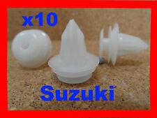 Suzuki 10 body trim côté moulage clips de retenue 9E
