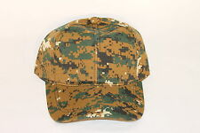 Digital Camo Brown Hunting Ball Cap Hat TRUE 255
