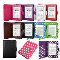 Folio Leather Smart Case Cover Auto Wake /Sleep for New Amazon Kindle Paperwhite