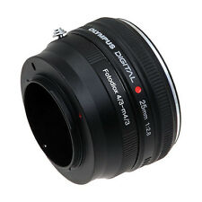 Fotodiox Adapter, Olympus OM Lens to Micro Four Thirds MFT M4/3 Camera