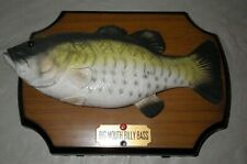 Vtg 1999 Big Mouth Billy Bass Gemmy Fish Singing Take Me To River / Don't Worry