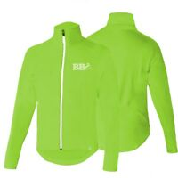 HiViz Cycling Rain Cover Jacket Waterproof High Visibility Running Top QualityUK