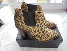 NEU Hugo Boss Wildleder Stiefeletten NP: 450€ Ankle Boots Stiefel Gr. 40 40,5 41