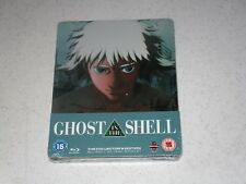 Ghost in The Shell Blu-ray Steelbook Collectors Ed W 24pg Booklet OOP RARE