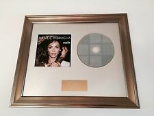 PERSONALLY SIGNED/AUTOGRAPHED NATALIE IMBRUGLIA - MALE FRAMED CD PRESENTATION.