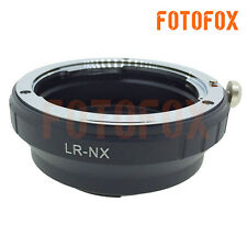 LR-NX Mount Adapter Ring for Leica R Lens to Samsung NX1100 NX30 NX1 NX3000 NX5