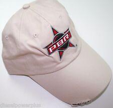 PBR professional bull riders ball cap hat rodeo cowboy bull distressed