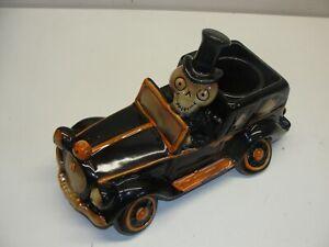 NEW YANKEE CANDLE BONEY BUNCH SKELETON CAR HALLOWEEN CANDLE HOLDER